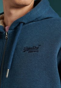 Superdry - Zip-up hoodie - box navy birdseye - 2