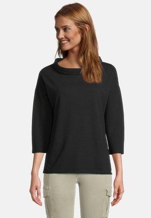 MIT 3/4 ARM - Sweatshirt - schwarz
