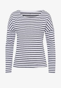 Cross Jeans - Long sleeved top - white/navy - 5