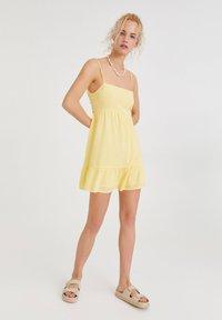 PULL&BEAR - Day dress - yellow - 1