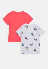 Name it - NBMJEFIKO 2 PACK - Print T-shirt - calypso/coral - 1