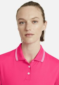 Nike Golf - DRY VICTORY - Sports shirt - hyper pink/white/white - 3