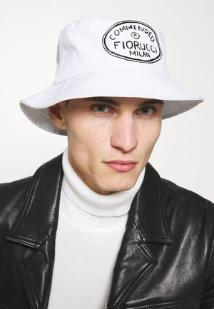 ILLUSTRATED COMMENDED BUCKET HAT UNISEX - Hat - white