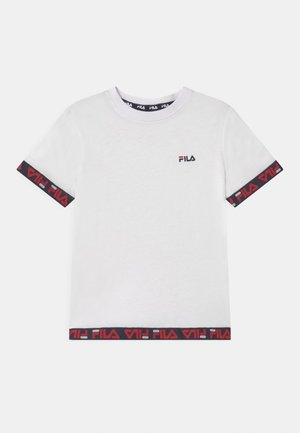 TARA TAPED  - Print T-shirt - bright white