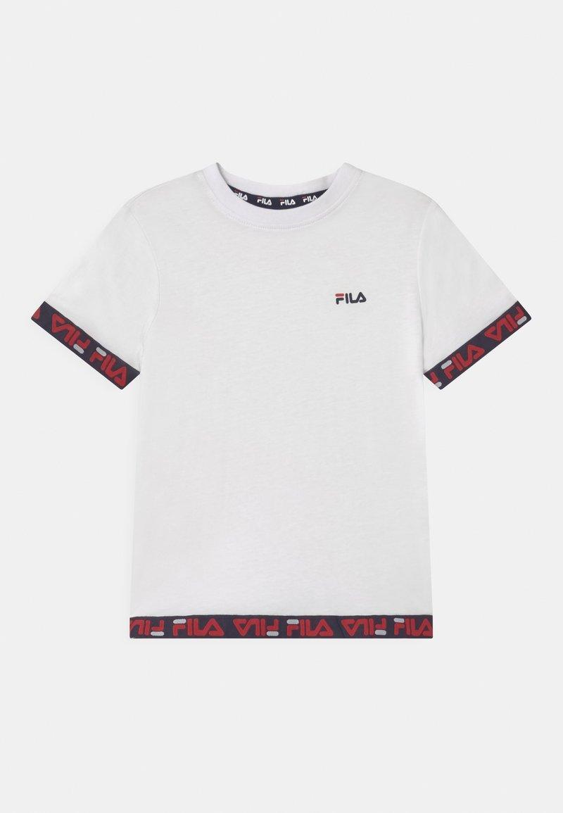 Fila - TARA TAPED  - Print T-shirt - bright white