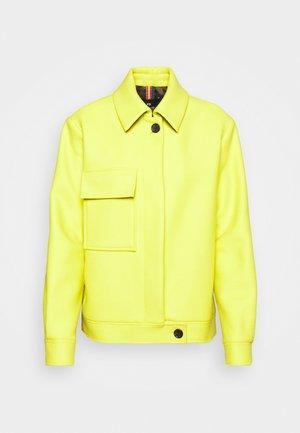 JACKET - Light jacket - yellow