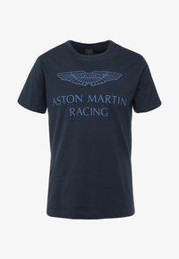 Hackett Aston Martin Racing - AMR WINGS TEE - T-shirt z nadrukiem - navy - 5