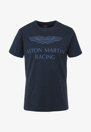 AMR WINGS TEE - T-shirt print - navy
