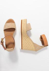 See by Chloé - Sandály na vysokém podpatku - beige - 3
