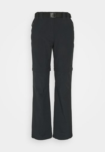 WOMAN ZIP OFF PANT - Trousers - antracite