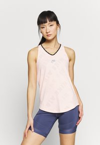 Nike Performance - AIR TANK - Sports shirt - washed coral - 0