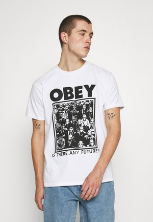 IS THERE ANY FURTURE - T-shirt imprimé - white