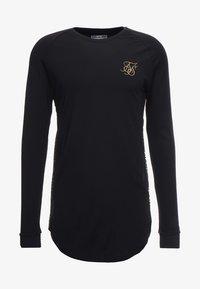 SIKSILK - PERFORMANCE CREW - Maglietta a manica lunga - black/gold - 4