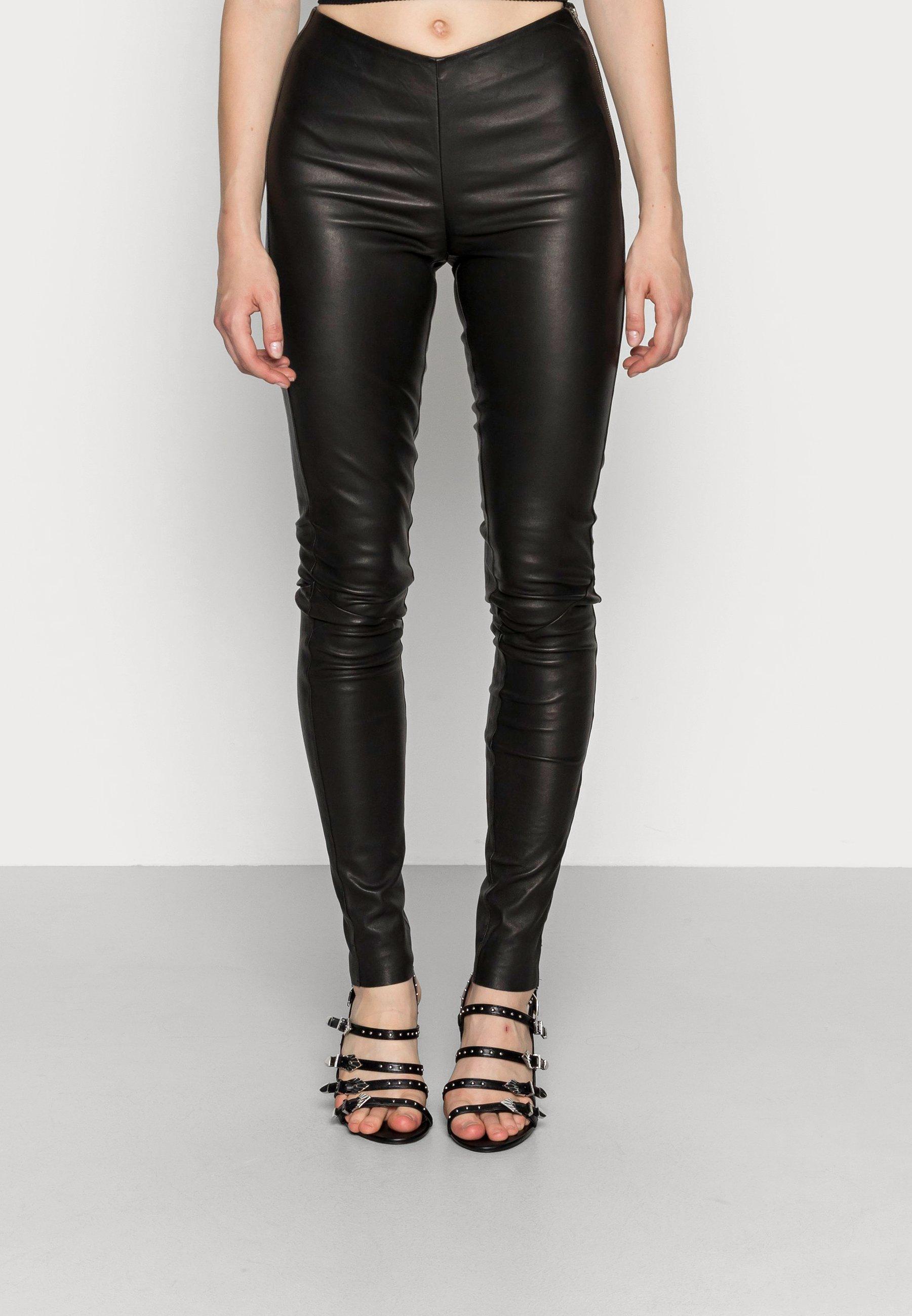 Donna YASZEBA STRETCH - Pantaloni di pelle