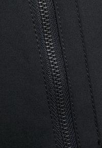 Banana Republic Petite - HOODED FLIGHT JACKET - Summer jacket - black - 2