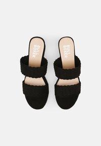 Bullboxer - Pantofle na podpatku - black - 4