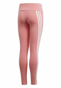 adidas Performance - STRIPES COTTON LEGGINGS - Leggings - pink - 1