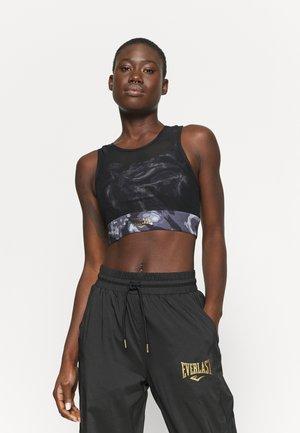 BRA QUARTZ - Medium support sports bra - black