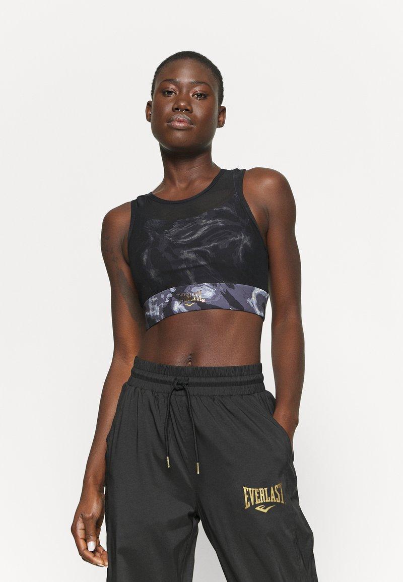 Everlast - BRA QUARTZ - Medium support sports bra - black