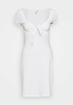 TIE FLIRTY DRESS - Robe d'été - white
