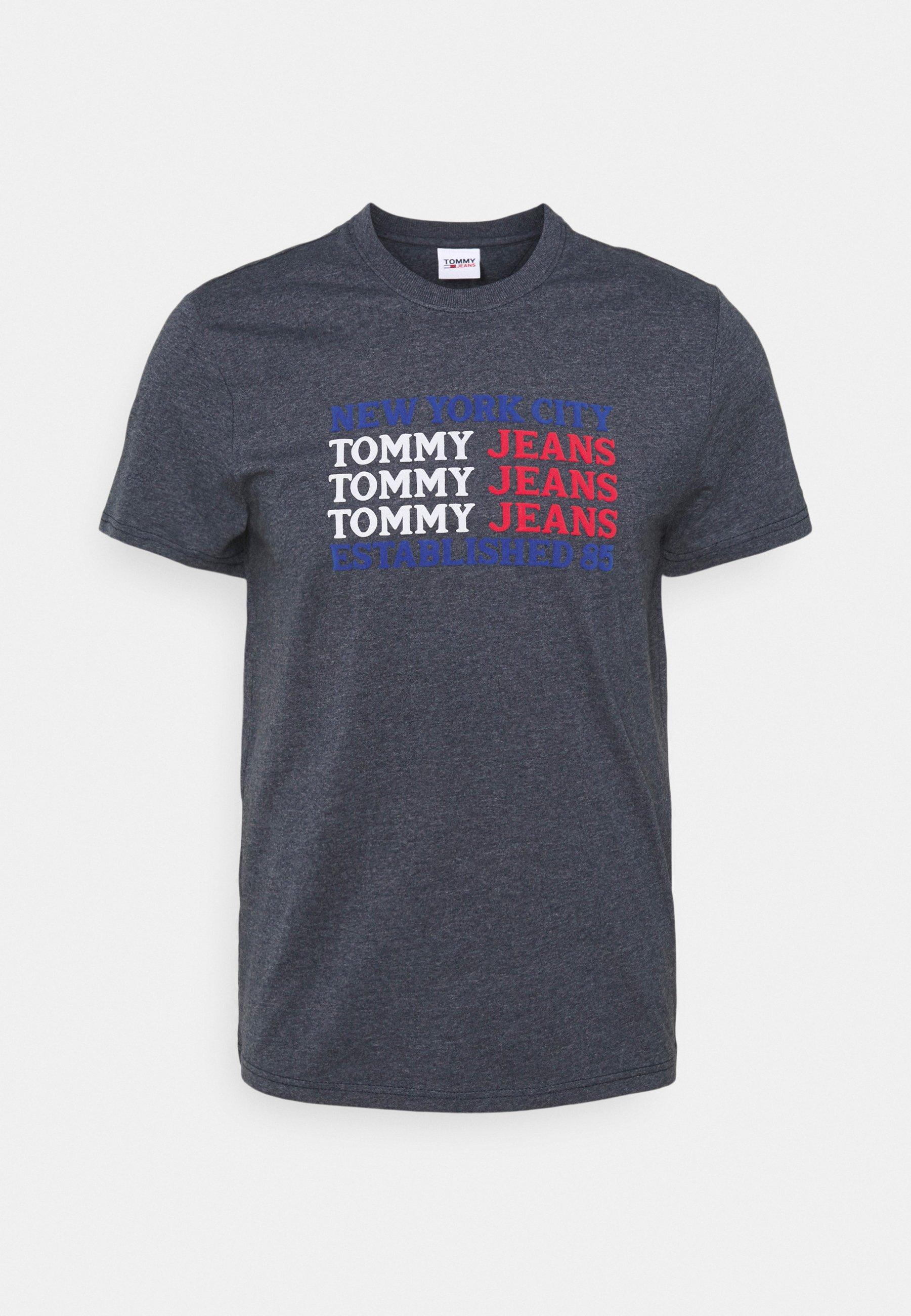 Herren TEXT FLAG TEE - T-Shirt print