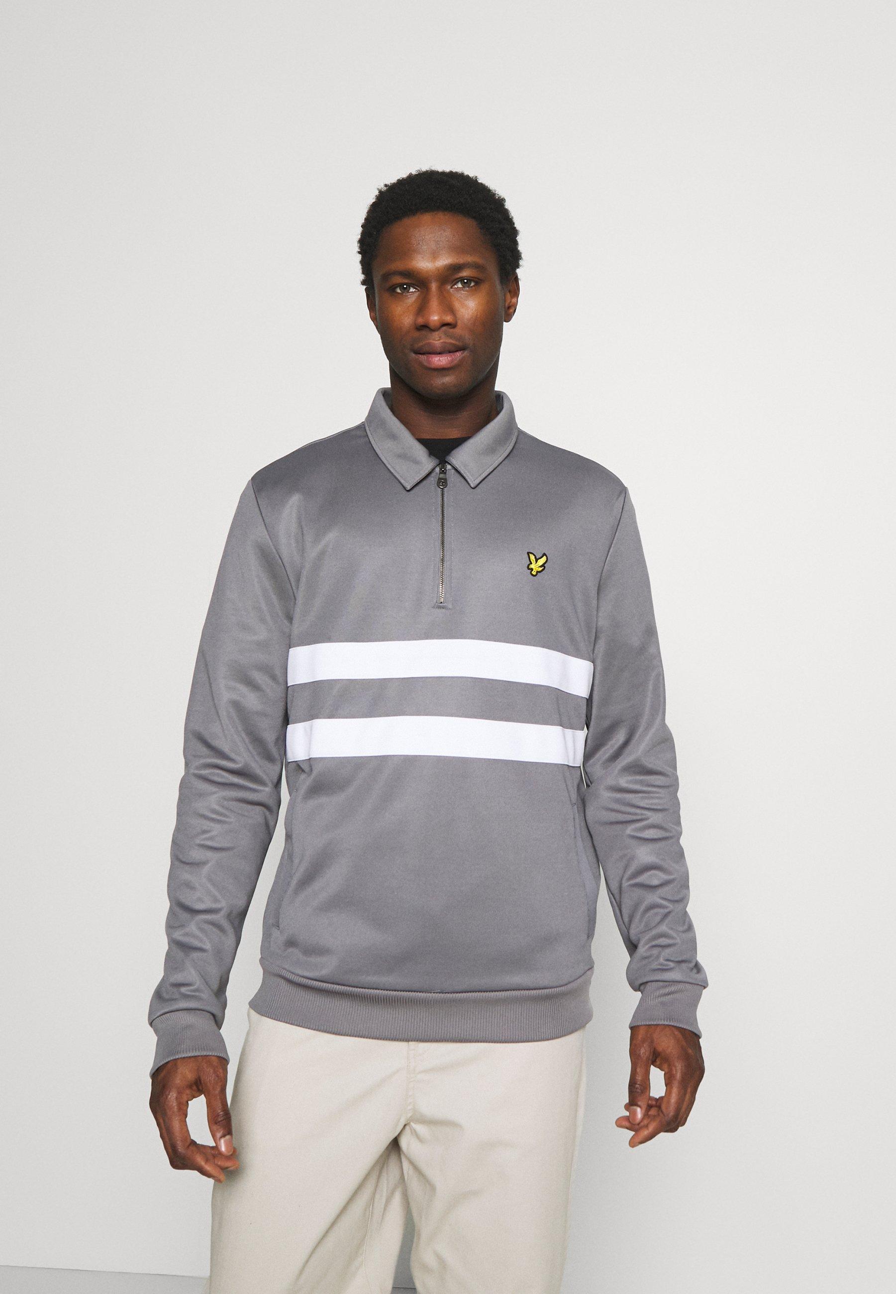 Men ZIP WIDE STRIPE - Sweatshirt