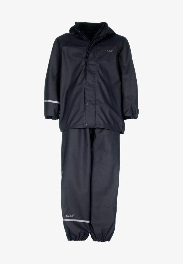 RAINWEAR SUIT BASIC - Sadetakki - dark navy