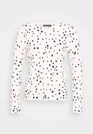 CASHMI MINI STAR - Jersey de punto - off-white