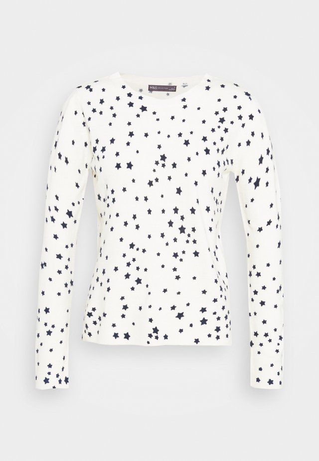 CASHMI MINI STAR - Sweter - off-white