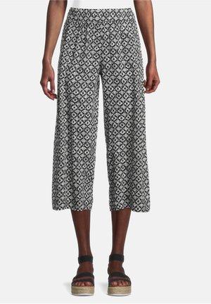 Trousers - weiß/schwarz