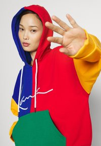 Karl Kani - SIGNATURE BLOCK HOODIE - Sweatshirt - multicolor - 3