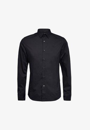 DRESSED SUPER SLIM SHIRT L\S - Chemise - dk black
