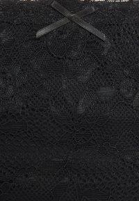 DORINA - ENACT 2 PACK - Slip - black/beige - 4