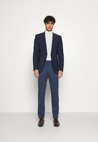 Calvin Klein Tailored - STRETCH PANT - Trousers - blue nights - 1