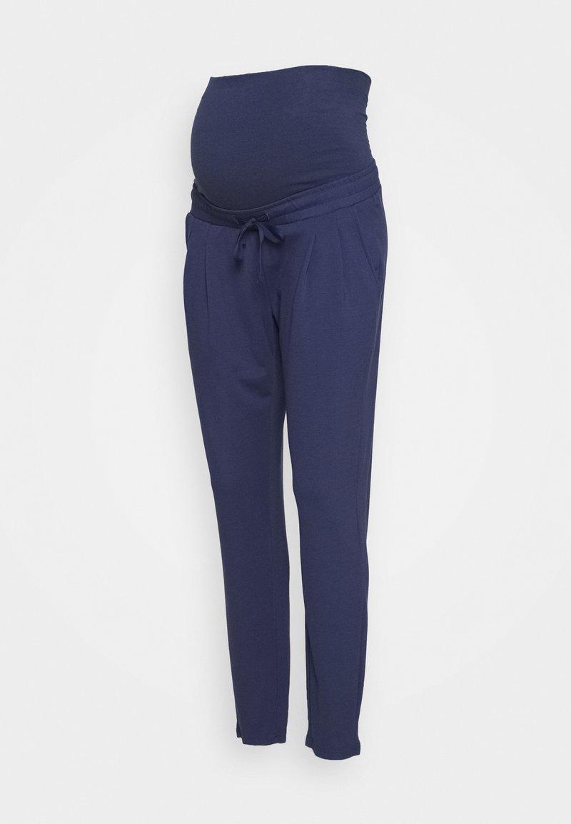 MAMALICIOUS - MLLIF PANTS - Kalhoty - crown blue