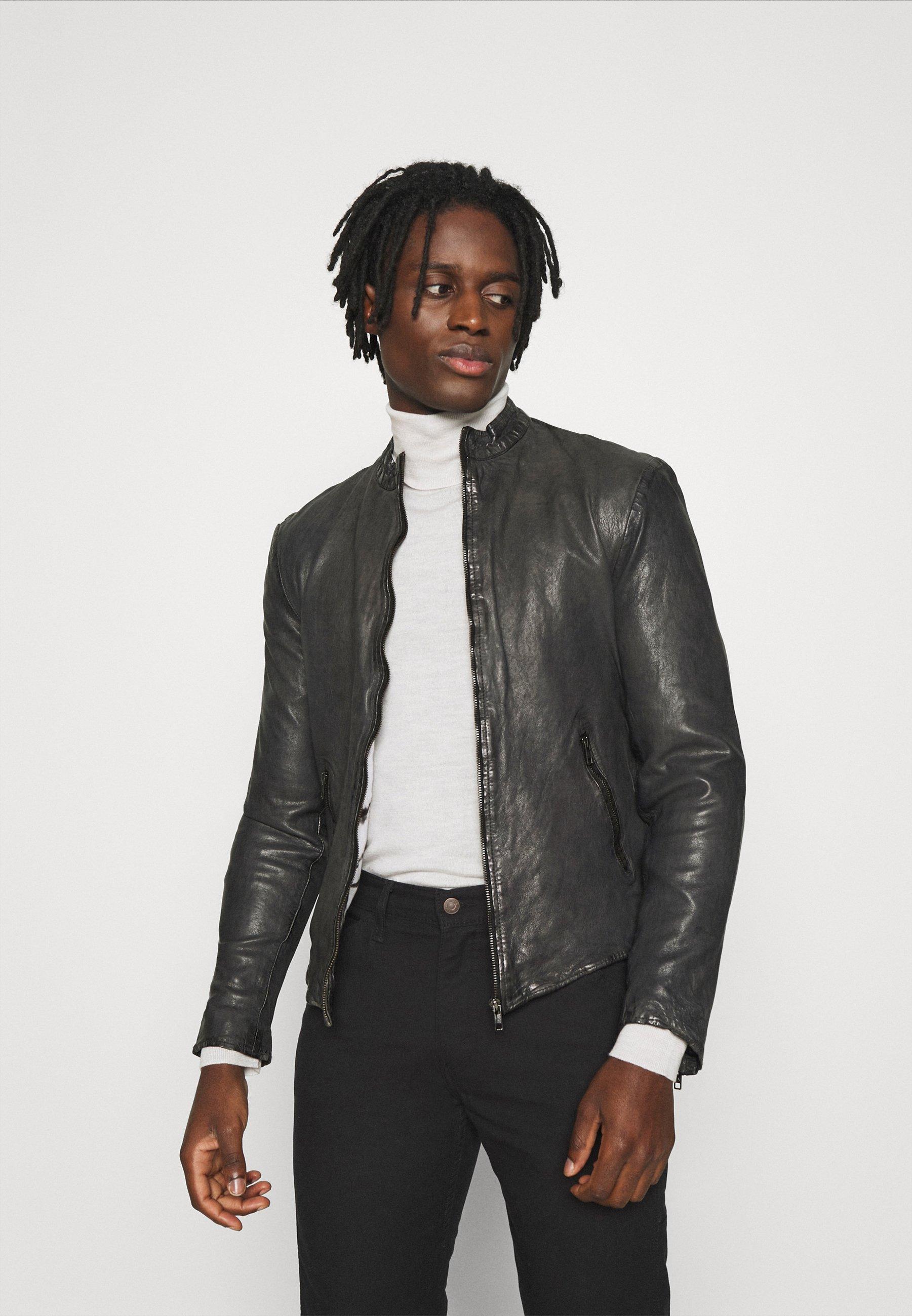 Men MOE - Leather jacket