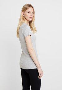 GAP - MOD CREW - Basic T-shirt - heather grey - 2