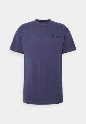 SIGNATURE - T-shirt imprimé - navy