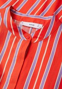 Mango - Vestido camisero - rot - 7