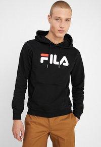 Fila - PURE HOODY - Huppari - black - 0