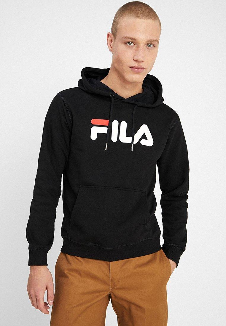 Fila - PURE HOODY - Felpa con cappuccio - black