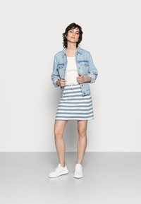 Rich & Royal - SKIRT - Mini skirt - smoked blue - 1