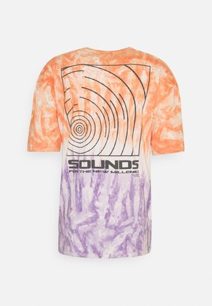 SOUNDS TIE DYE TEE UNISEX - T-shirt con stampa - multi