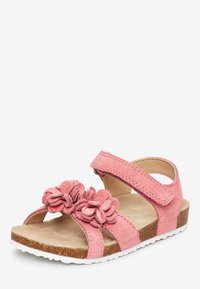 Next - PINK CORKBED FLOWER SANDALS (YOUNGER) - Outdoorsandalen - pink - 2
