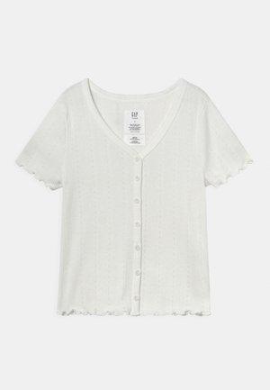 GIRLS BUTTON THRU - T-shirt print - new off white