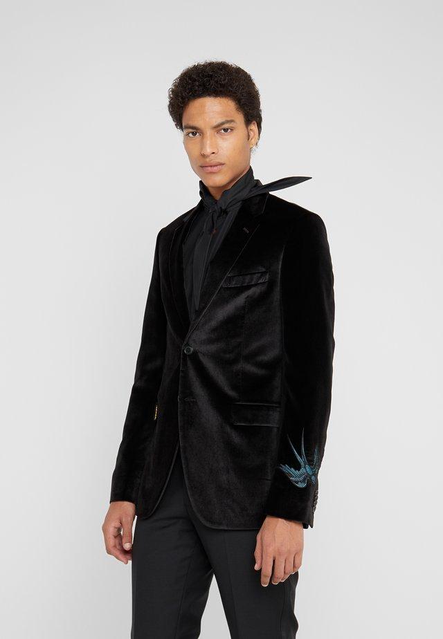 GENTS SLIM FIT JACKET - Veste de costume - black