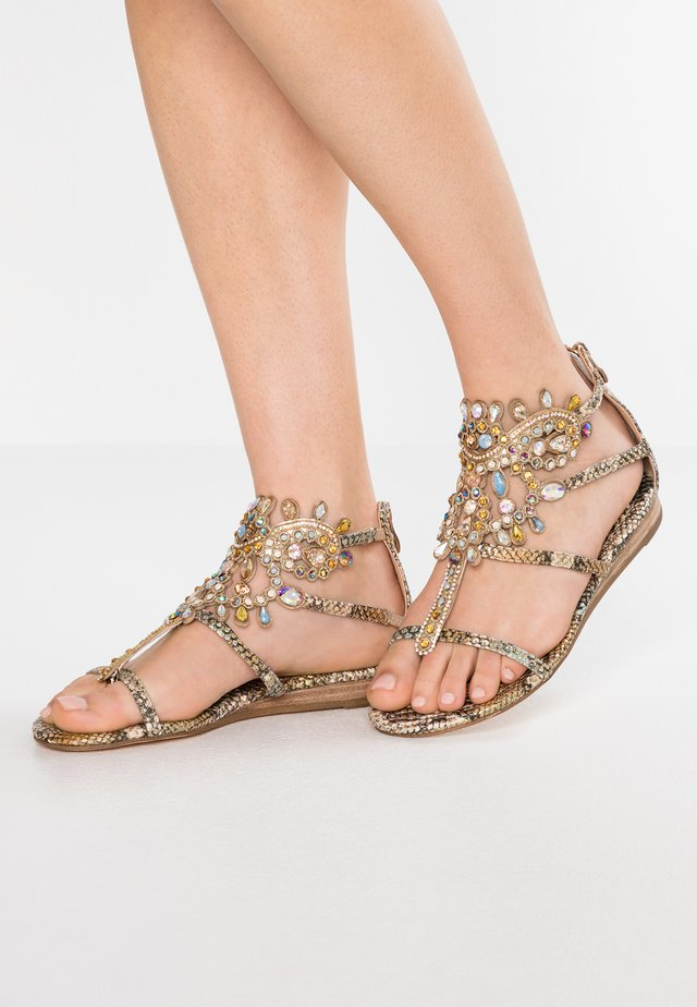 Sandales - bronze