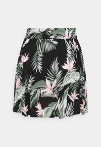 Vero Moda - VMSIMPLY EASY SHORT SKATER SKIRT - Mini skirt - black - 6