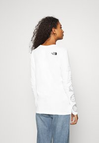 The North Face - GEODOME TEE - Langærmede T-shirts - white - 2