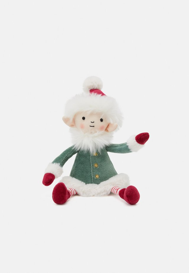 LEFFY ELF SMALL - Cuddly toy - green